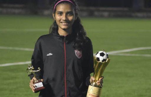 Muslim Girl selected for FC Goa
